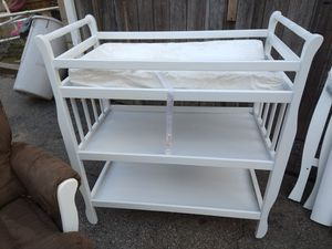Changing table and crib for Sale in Pawtucket, RI