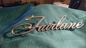 1968 ford fairlane quater pannel emblem origanl us