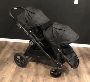 CITY SELECT DOUBLE BABY JOGGER WITH 2ND SEAT STROLLER for Sale in Whittier, CA