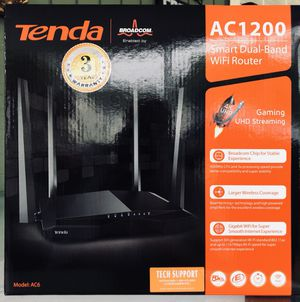 Tenda (AC 1200 ) Smart dual band WiFi Router and a TP- Link Docsis 3.0 Modem for Sale in Port St. Lucie, FL