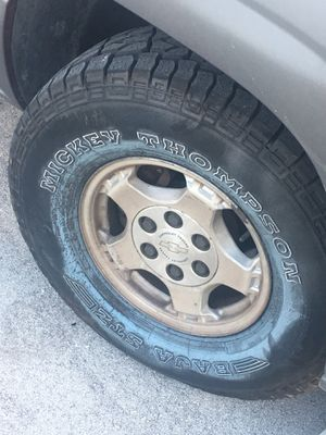 Mickey Thompson tires -285/75/16 for Sale in HALNDLE BCH, FL