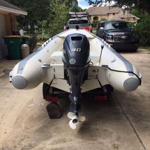 Never Used Motor Brand New! Trailer & Boat . Will Seperate for Sale in Kissimmee, FL