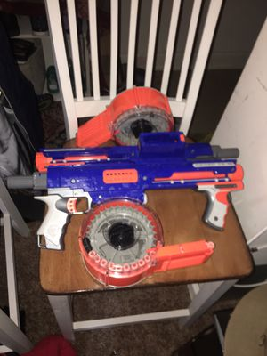 2 individual nerf guns. In great shape . for Sale in Moorestown, NJ