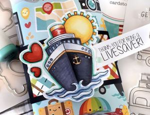 I Heart Travel Stamps & Dies for Sale in Elizabethton, TN