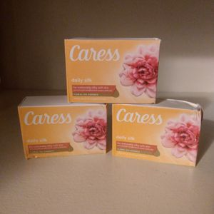 Caress Daily Silk Bar Soap 3 Pack for Sale in Chico, CA