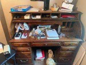 Antique roll top desk for Sale in Loveland, OH