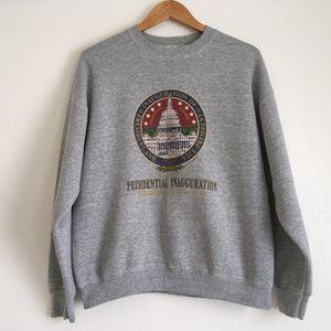 Vintage 1997 Presidential Inauguration Sweatshirt for Sale in Las Vegas, NV