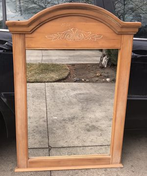 Light wash distressed mirror for Sale in Bend, OR