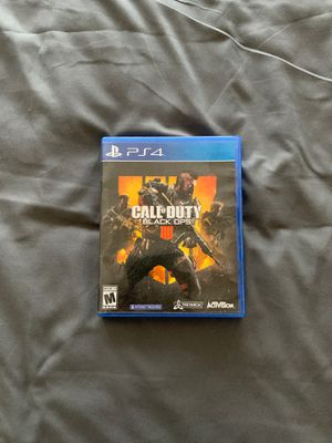Call of Duty Black Ops 4 for Sale in Alta Loma, CA