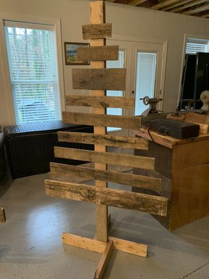 6ft Wooden Christmas tree for Sale in Cary, NC