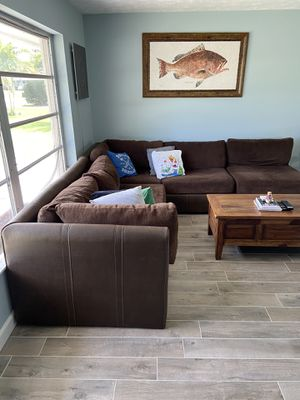 COUCH SECTIONAL COFFEE TABLE PICTURE LIVING ROOM CHAIR for Sale in Hobe Sound, FL