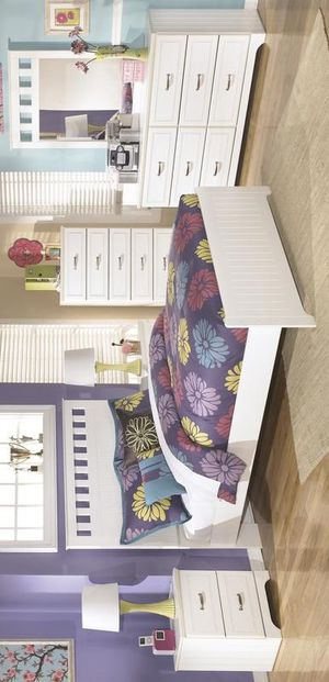 💚 Best Offer 💚 Lulu White Youth Panel Bedroom Set | B102 for Sale in Jessup, MD