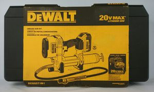 DeWalt 20-volt Max Lithium-Ion Cordless Grease Gun Kit with Battery 4AH (DCGG571M1) for Sale in North Miami Beach, FL