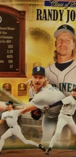 Randy Johnson Commemorative Photo Mariners Baseball for Sale in Renton,  WA