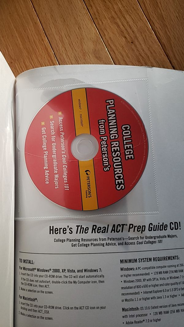 The real ACT prep guide with DVD