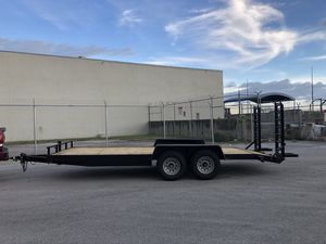 Bobcat trailer , excavator trailer , equipment trailer, sxs trailer , 7 ton trailer,trailer, car hauler for Sale in Hialeah Gardens, FL