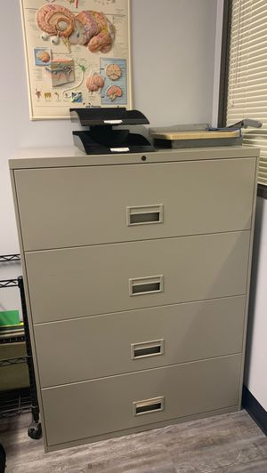 Four drawer Lateral file cabinet for Sale in Whittier, CA