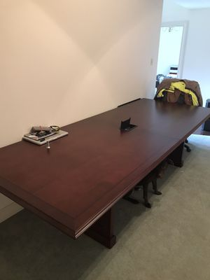 10ft Conference Table with USB and electric output for Sale in Lake Charles, LA
