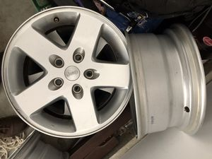 5 LIKE NEW Stock Jeep Wrangler 17s Wheels for Sale in Washington, DC
