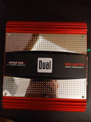 Dual XPA2100 300W 2 Channel Amp for Sale in Las Vegas, NV