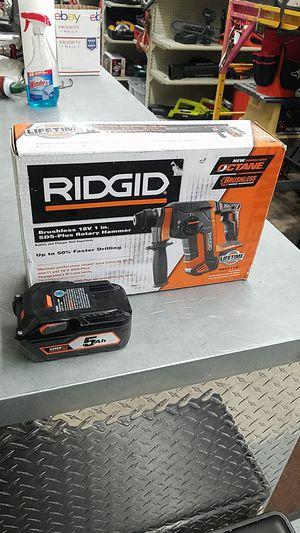 """Ridgid R86711B Brushless 18v 1"""" SDS Plus Rotary Hammer for Sale in Phoenix, AZ"""