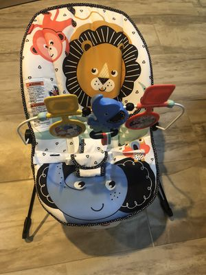 Fisher-Price Baby Bouncer - Lion Around for Sale in Glendale, AZ
