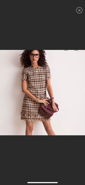 ♠️Kate spade bi- color tweed dress 👗 for Sale in Tracy, CA