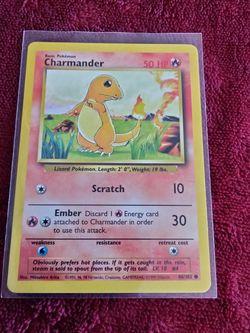 Original Base Set Charmander Pokemon Card for Sale in Gig Harbor,  WA