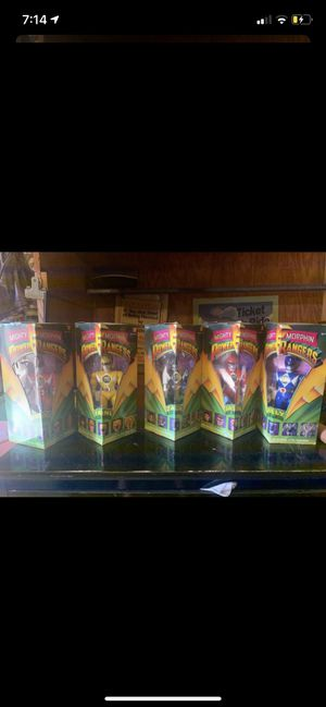 Mighty morphine power ranger action figures for Sale in Chino, CA