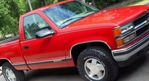 Great Tires 1998 Chevy SilveradoPrice1OOO$ for Sale in Abilene, TX