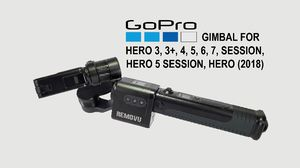 Removu S1 3 Axis Gimbal for Gopro cameras with 2 batteries for Sale in San Antonio, TX