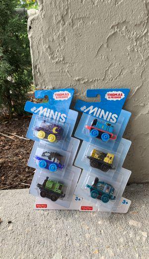 Thomas and Friends Minis set of 6 Thomas, Bert, Emily, Gator, Luke, and Ferdinand for Sale in Lake Mary, FL