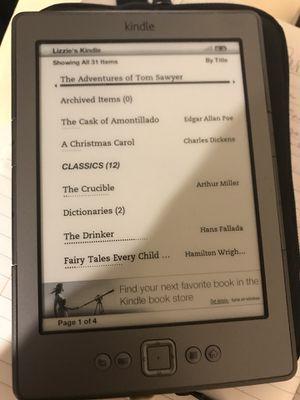 Original Amazon Kindle for Sale in Atlanta, GA