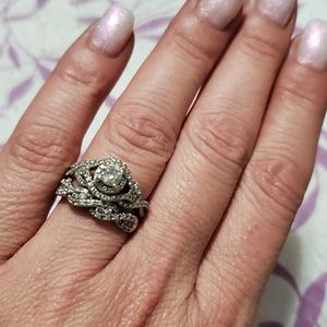 Engagement Ring & Band Set for Sale in Bohemia, NY