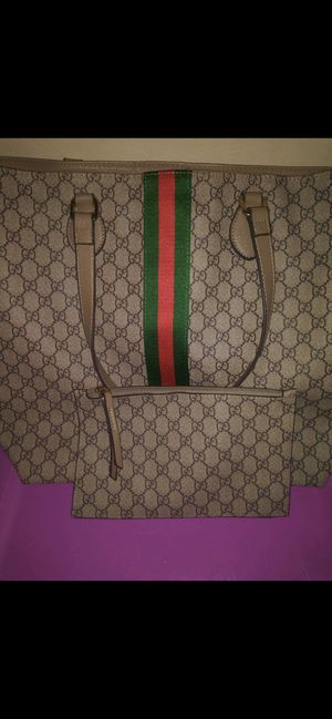Large Gucci Monogram Tote with Matching Mini Bag $350 for Sale in Tampa, FL
