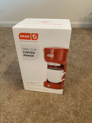 Dash coffee maker in original package for Sale in Montgomery, AL