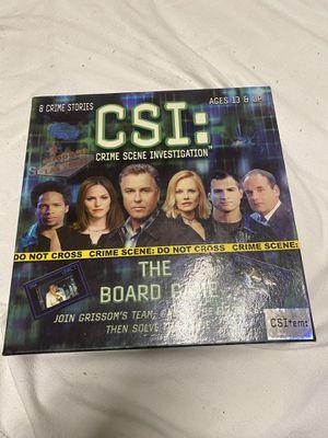 CSI: Crime Scene Investigation for Sale in Elgin, IL