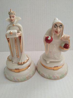 LENOX Disney Treasures Snow WhiteThe Wicked Queen Trinket Box (set of 2) for Sale in Wilmington, CA