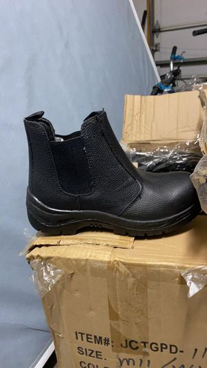 Steel toe shoes + boots for Sale in West Valley City, UT