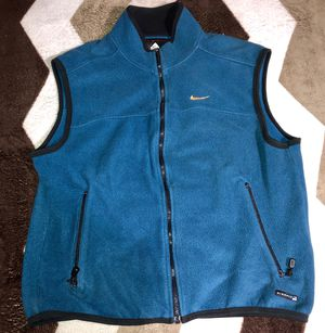 Vintage 90s NIKE ACG Vest full zip up sweater for Sale in South Gate, CA
