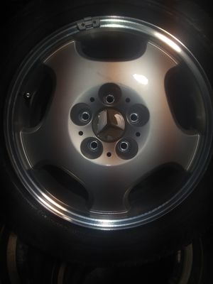 Brand new Mercedes rim and tire for spare for Sale in Providence, RI