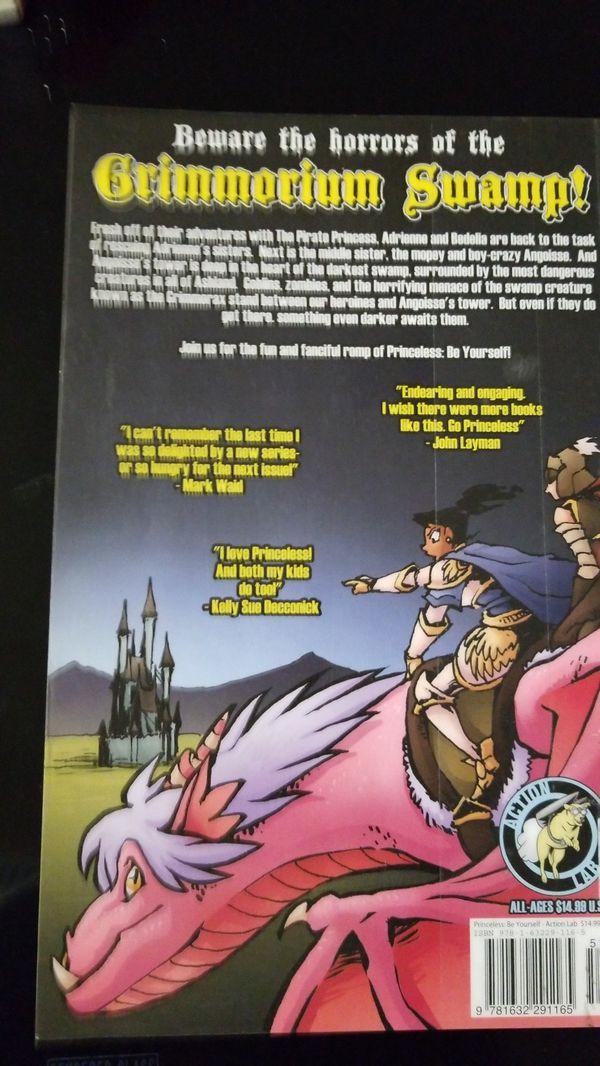 Princeless book4