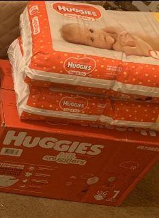 HUGGIES SIZE 1 for Sale in Philadelphia, PA
