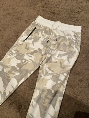 Fullsend fitness white camo joggers for Sale in Hazlet, NJ