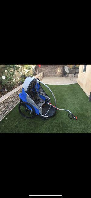 Trek Double seat Kid Bike Trailer for Sale in San Diego, CA