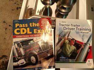* CDL books * Study Guide * Exam Books * Commercial Drivers license * $15 for all 4 books * for Sale in Stockbridge, GA