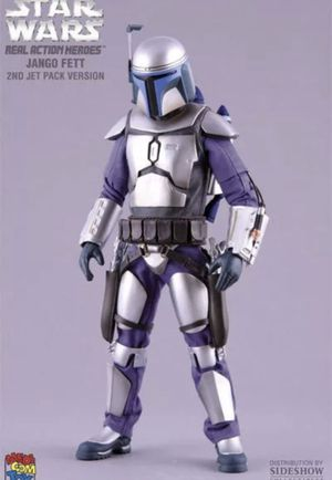 MEDICOM Sideshow 1:6 Scale Star Wars Jango Fett Pose-able 12'' Man Action Figure Doll Toy. Sealed for Sale for sale  Fort Lauderdale, FL