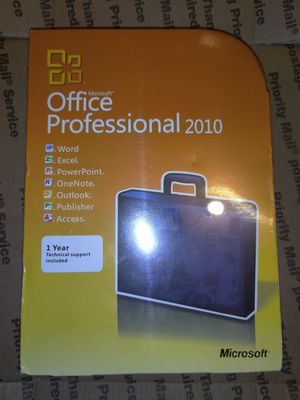 Microsoft office professional 2010 for Sale in Los Angeles, CA