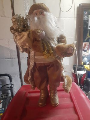 Gold santa and gold door hangers for Sale in Columbus, OH