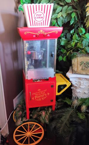 Old fashioned popcorn maker cart for Sale in Clearwater, FL